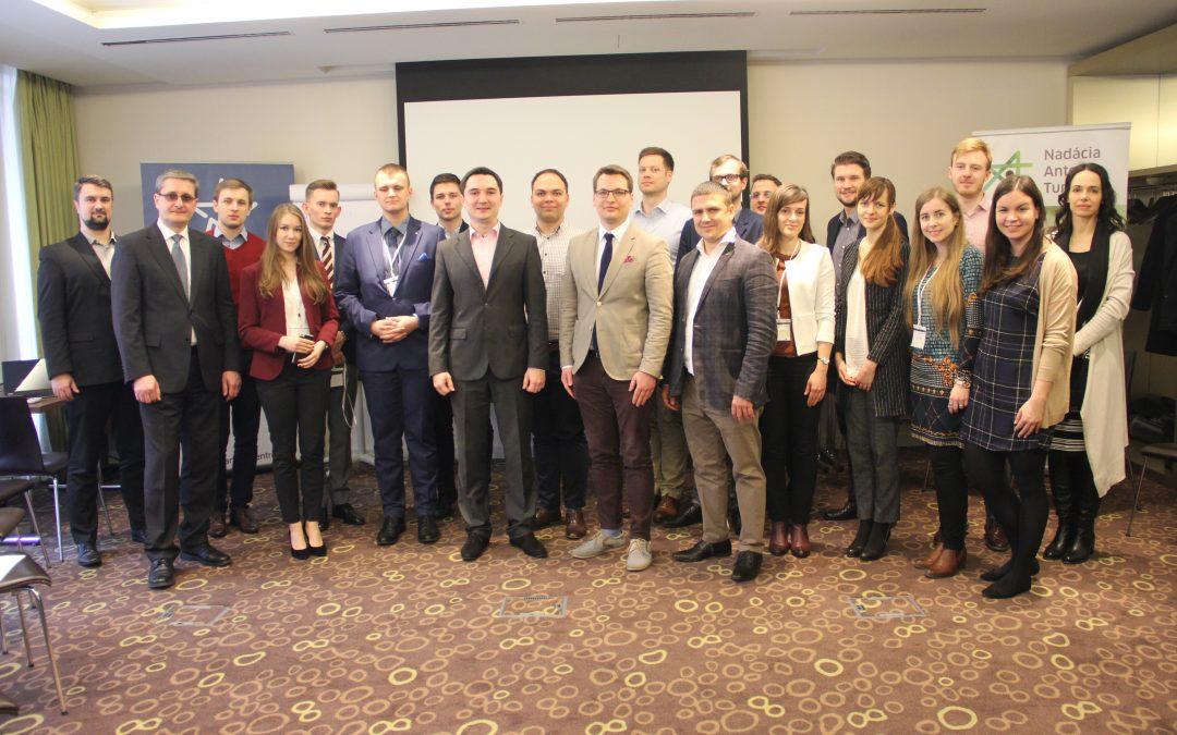 Bratislava hostila první ročník politické akademie pro mladé politiky
