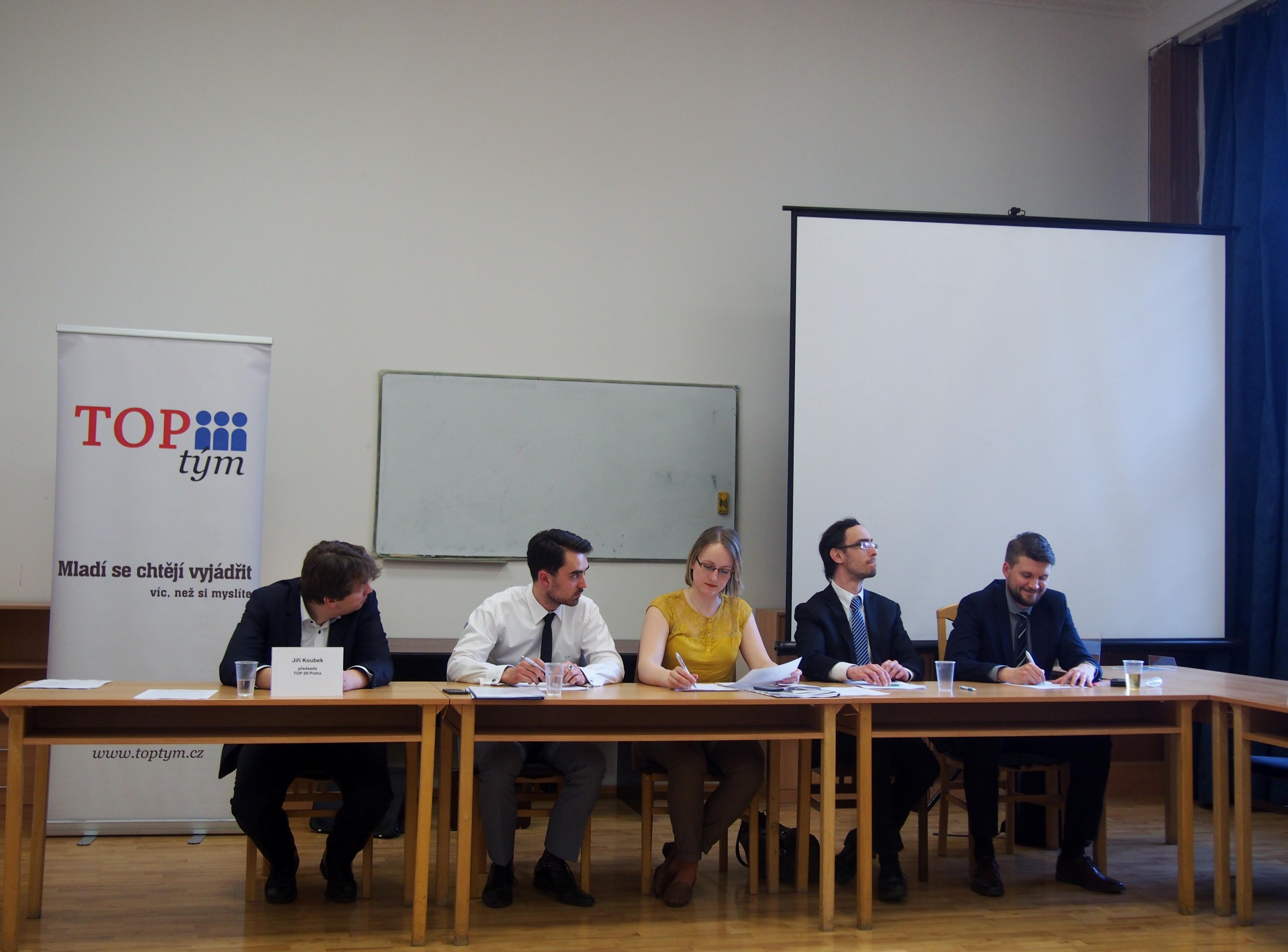 Třetí volební valná hromada TOP týmu potvrdila mandát staronovému vedení