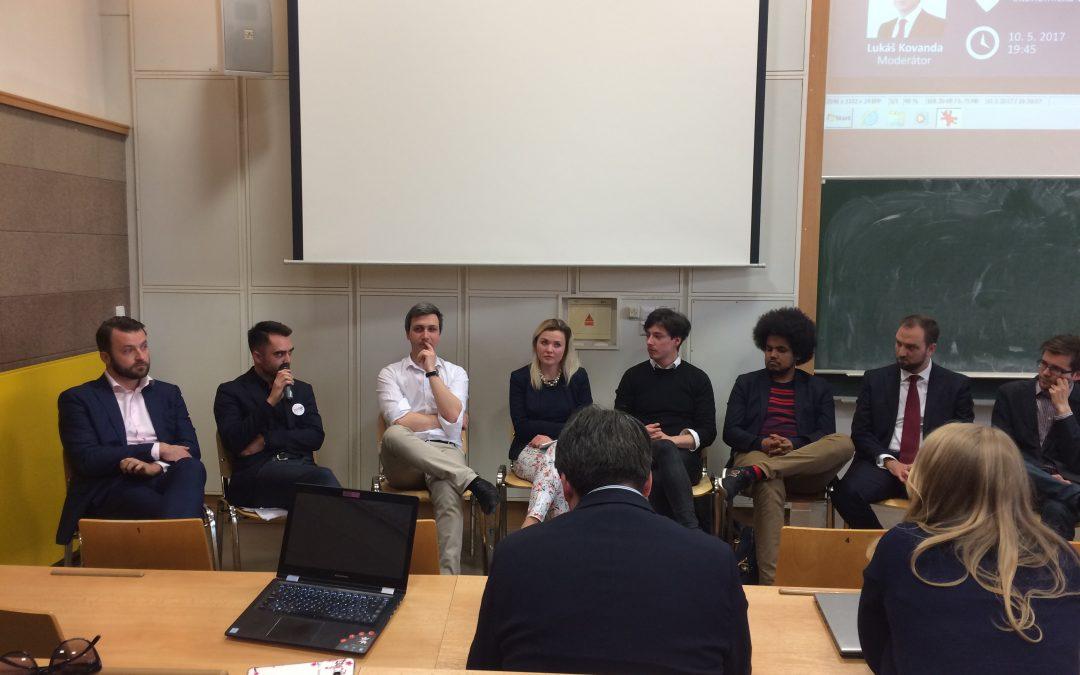 Jan Kavalírek a Kryštof Kothbauer debatovali s mladými politiky