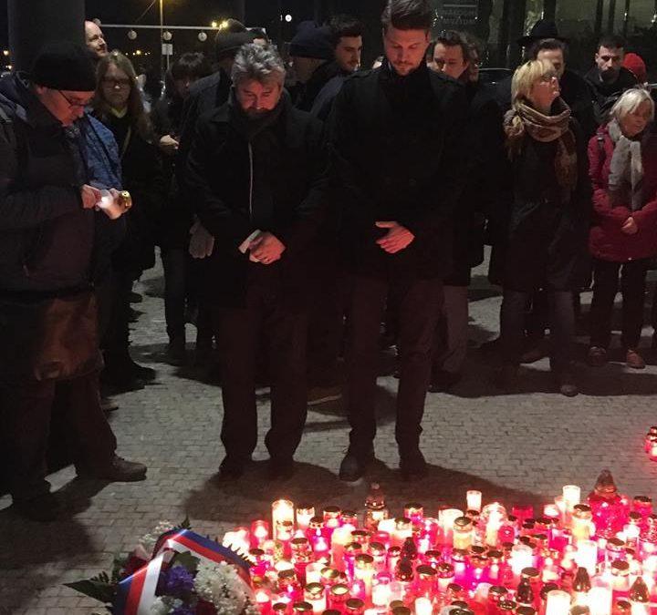 Svíčka pro Jana Palacha