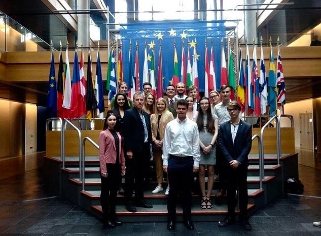 Exkurze do Evropského parlamentu