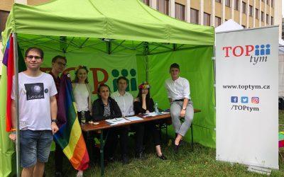 TOP tým na Prague Pride 2019