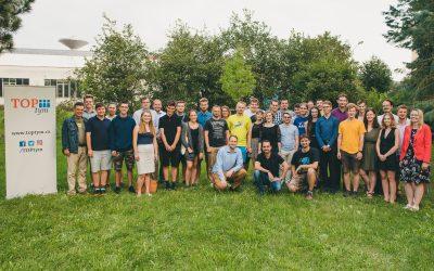 Summer camp TOP týmu 2019