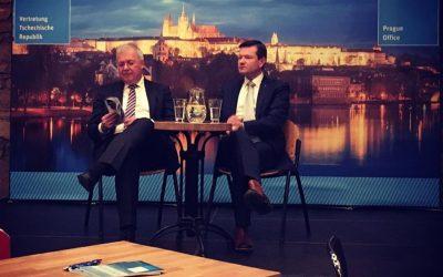 Markus Ferber v Praze